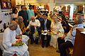 Bengali Writers with Dignitaries - Apeejay Bangla Sahitya Utsav - Kolkata 2015-10-10 4852.JPG