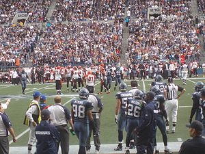 2007 Seattle Seahawks season - The Seahawks host the Cincinnati Bengals in week 3, September 23