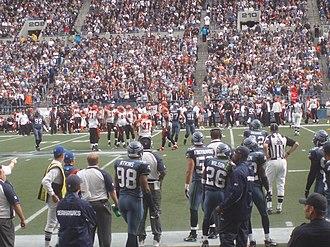 2007 Cincinnati Bengals season - The Bengals at Seattle in week 3