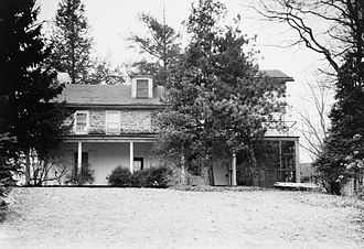 Benjamin Rush - The birthplace of Benjamin Rush, photographed in 1959.