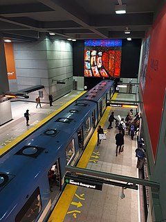 Berri–UQAM station Montreal Metro station in the borough of Ville-Marie