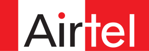 Wordmark of Bharti Airtel. Trademarked by Bhar...