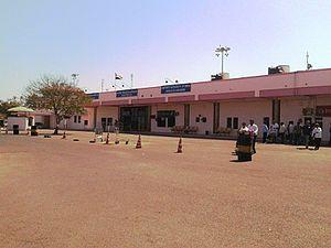 Bhavnagar Airport - Bhavnagar Airport cityside