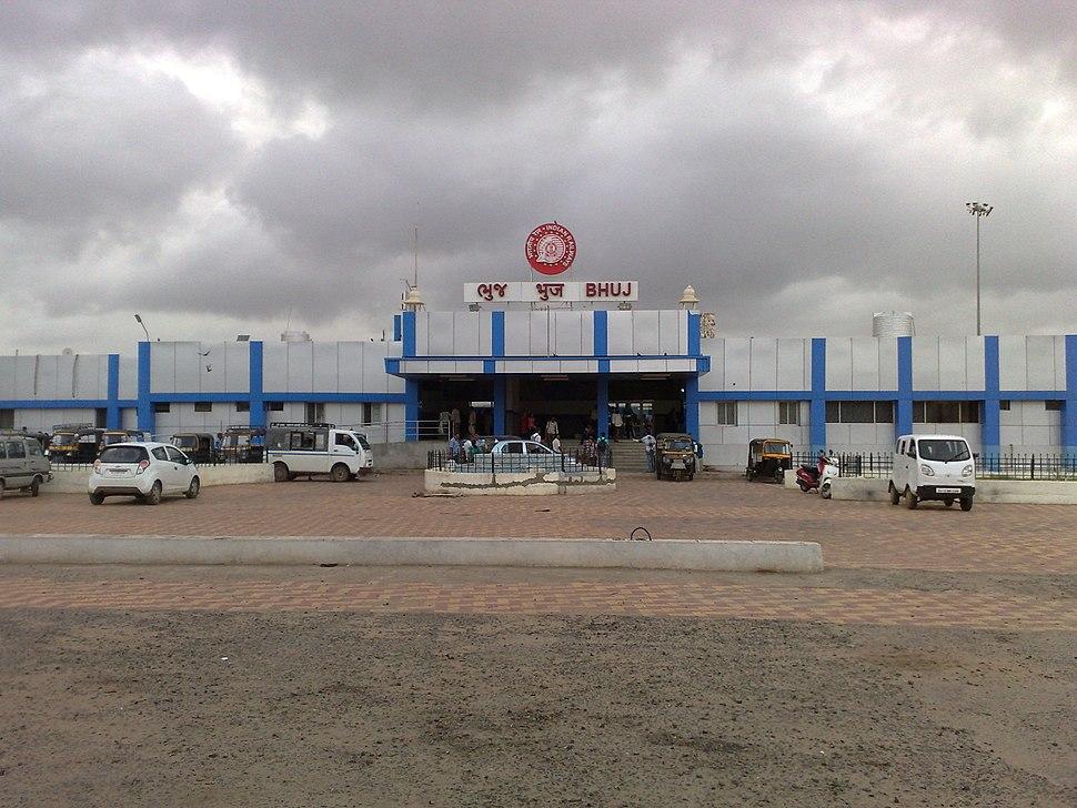 Bhuj railway station - Main Building