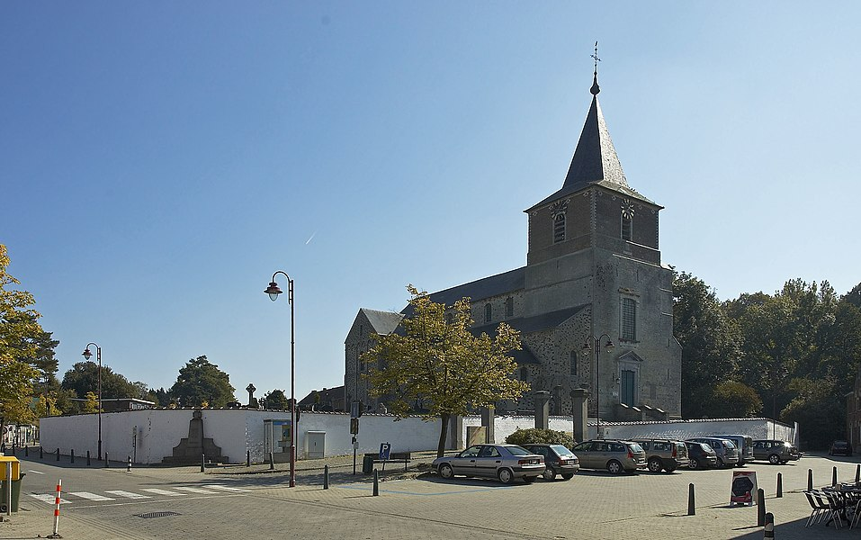 Church Saint Hilarius in Bierbeek, Belgium