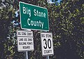 Big Stone County, Minnesota Sign (34686360614).jpg
