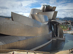 Guggenheim museum in Bilbao, Spain