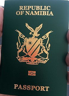 Visa requirements for Namibian citizens