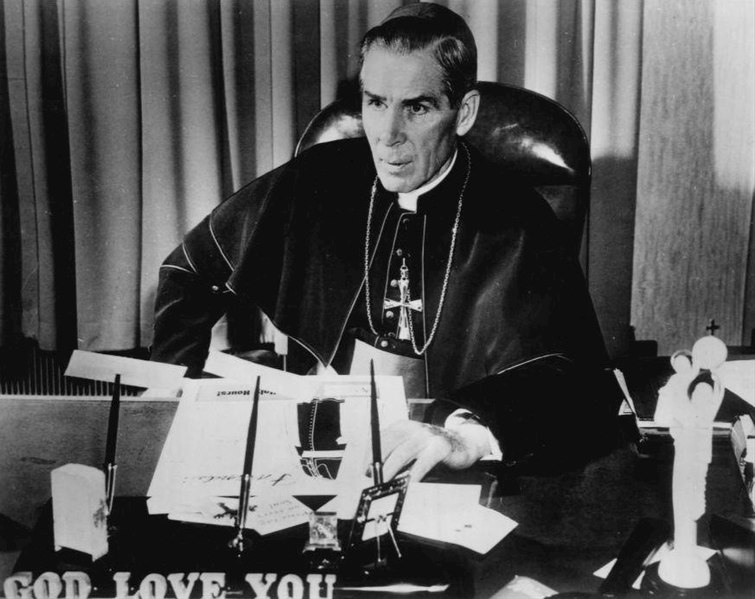 File:Bishop Fulton J. Sheen 1956.JPG