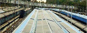 Hyderabad Deccan railway station - Solar Power Plant at Hyderabad Railway Station