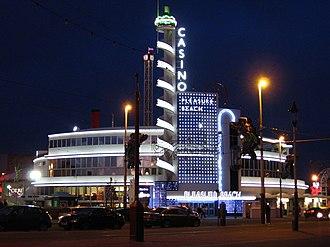 Joseph Emberton - The Casino at Blackpool Pleasure Beach designed by Emberton in 1939.