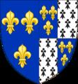 Blason de Claude de France après 1515.png