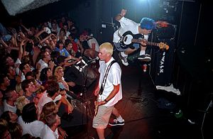 Blink-182 - Blink-182 at the Showcase Theater in Corona, California in 1995.