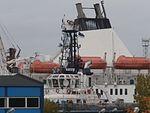 Bluefort Funnel and Ryurik Top Port of Lahesuu Tallinn 29 September 2016.jpg