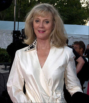 Blythe Danner - Danner at the Metropolitan Opera opening, September 22, 2008