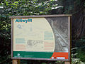 Board describing the Alltwyllt incline - geograph.org.uk - 268212.jpg