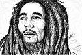 Bob Marley sckech Por Daniel Alvarado Silvera.jpg