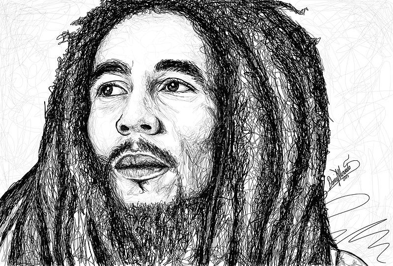 File:Bob Marley sckech Por Daniel Alvarado Silvera.jpg