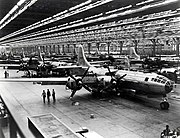 Boeing-Whichata B-29 Assembly Line - 1944