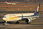 Boeing 777-35RER 'A6-JAF' Etihad Airways (30673783091).jpg