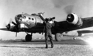 483d Airlift Group - Image: Boeing B 17G Flying Fortress 44 6405