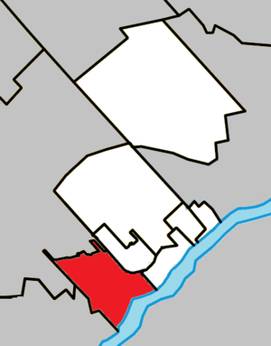 Boisbriand, Quebec - Image: Boisbriand Quebec location diagram