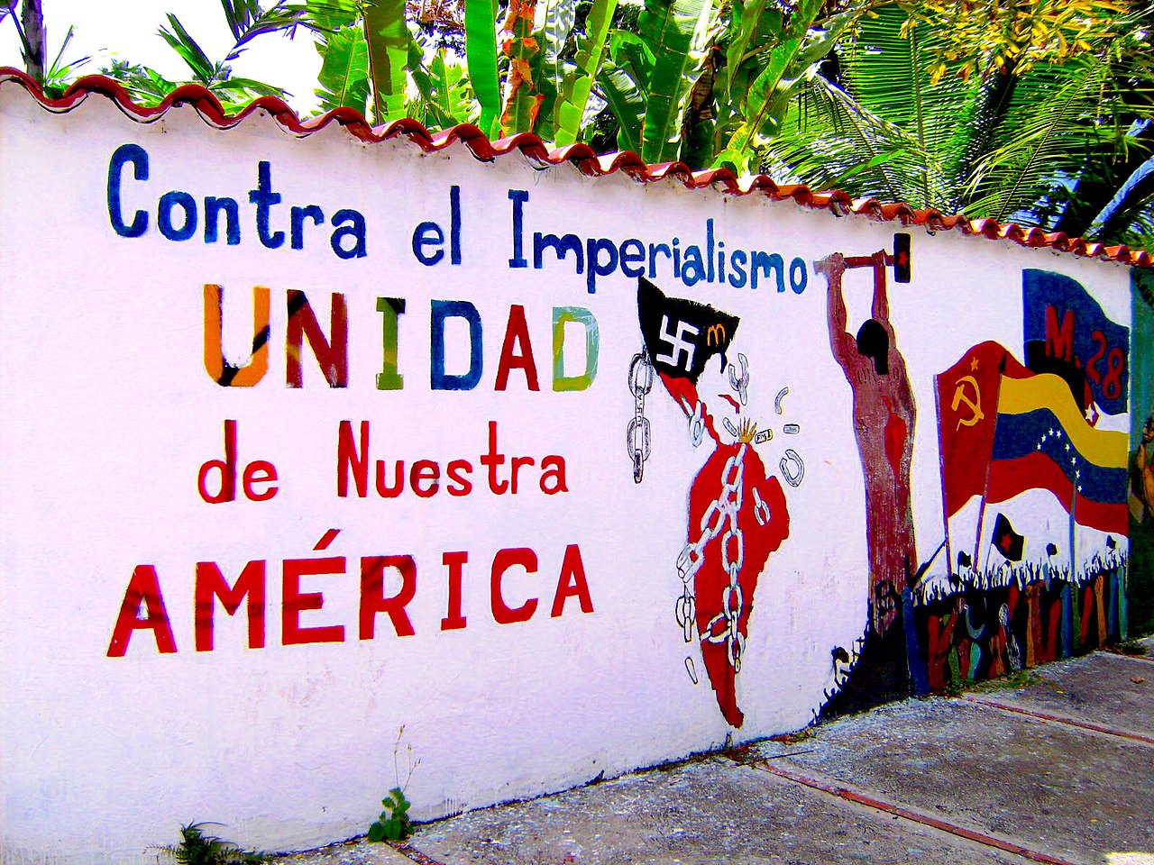 Bolivarian mural against Imperialism & United States.jpg