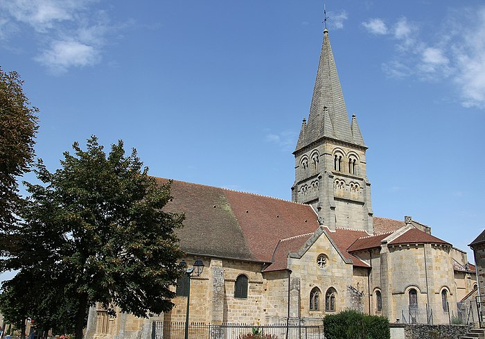 Eglise saint georges monument historique bourbon l - Chambre d hote bourbon l archambault ...