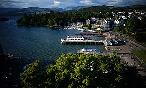 Bowness-on-Windermere - Looking northwards over Windermere
