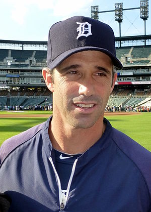 Brad Ausmus - Ausmus in his first year as manager of the Detroit Tigers