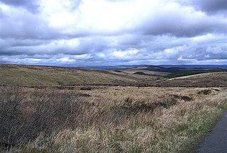 Sliabh Beagh Mountain on the border of Monaghan (R. Ireland), Fermanagh and Tyrone (N. Ireland)