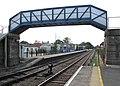 Brandon railway station - the footbridge - geograph.org.uk - 1516146.jpg