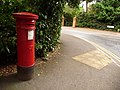 Branksome, postbox No. BH13 50, Wilderton Road - geograph.org.uk - 1427477.jpg
