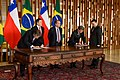 Brasil e Chile reforçam acordo de cooperação político-militar de defesa (29214909357).jpg