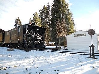 Rotary snowplow - Image: Breckenridge Rotary Snowplow