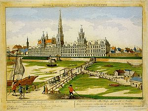 University of Wrocław - Proposed design of Leopoldina (never fully completed), 1760