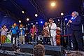 Brest - Fête de la musique 2014 - Big Band de Jazz - 004.jpg