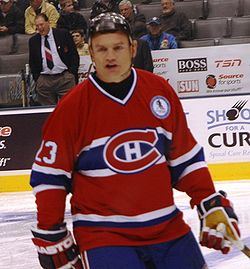 Brian Bellows Montreal Canadiensin paidassa
