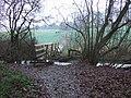 Bridge at edge of Norwood - geograph.org.uk - 658629.jpg