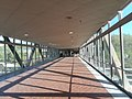 Bridge from garage to station at Franconia-Springfield Metro Station.jpg