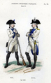 Brie Regiment Fusilier & Royal Regiment Officer in 1789.png