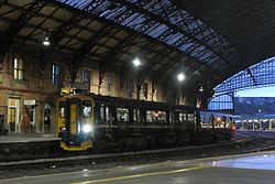 Bristol Temple Meads - GWR 150247 evening service to Worcester.JPG