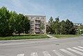 Brno-Řečkovice - domy na severní straně Medlánecké ulice.jpg