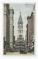Broad Street and City Hall Tower, Philadelphia., Pa (NYPL b12647398-74176).tiff