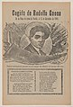 Broadsheet relating to a bullfight with the famous bullfighter Rodolfo Gaona in the ring at Puebla on 13 December 1908, a description in the bottom section MET DP869136.jpg
