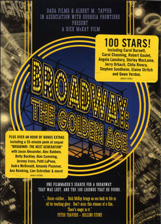 Broadway: The Golden Age, by the Legends Who Were There - Image: Broadway DV Dcover 1