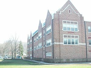 Bronxville Union Free School District - A new wing was added to accommodate increased enrollment.