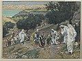 Brooklyn Museum - Jesus Heals the Blind and Lame on the Mountain (Sur la montagne Jésus guérit les aveugles et les boiteux) - James Tissot - overall.jpg