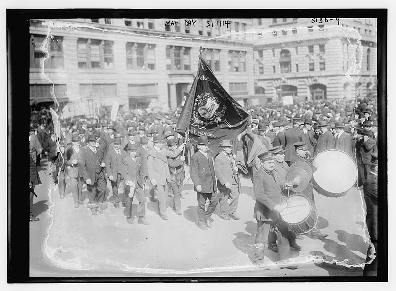 Brotherhood of Carpenters and Joiners of America May Day, 5114 (LOC) 1914.jpg