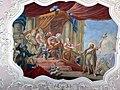 Bruneck Spitalkirche 4 - Deckenfresko Täufer vor Herodes.jpg